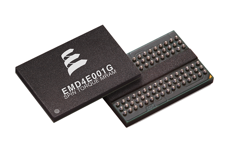 Everspin's newest 1Gb spin-transfer torque MRAM device targets enterprise and computing applications that need high capacity, low latency, and persistence.