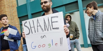 Leaders must lead: How Google's resistance to employee organizing endangers our democracy and our economy