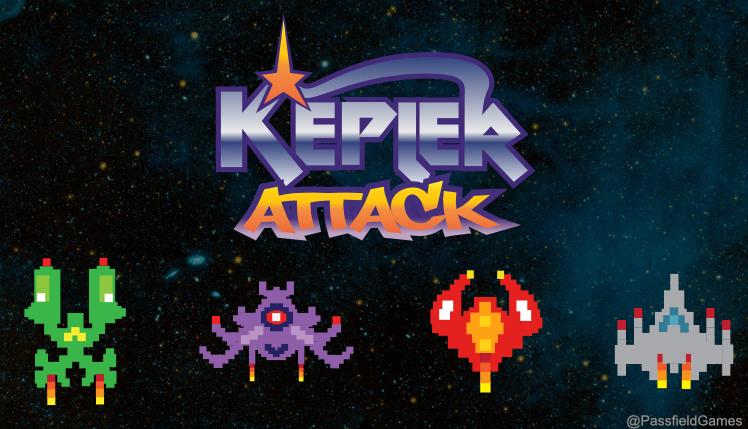 Kepler Attack is one of game developer J