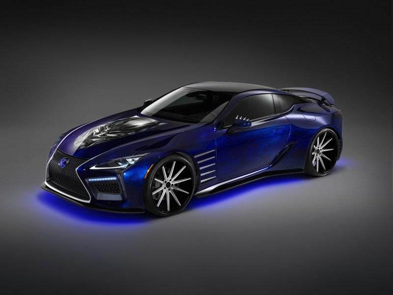 Black Panther-inspired Lexus.