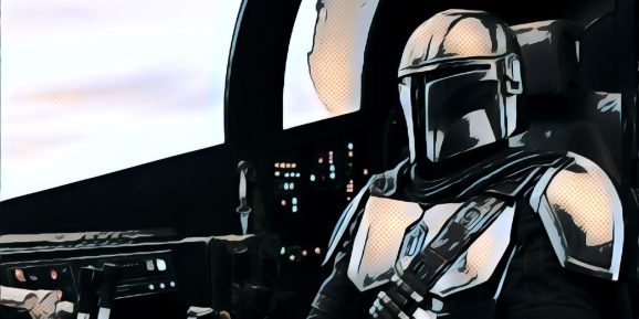 """""""The Mandalorian"""" production team used Unreal Engine to display many of its environments on set."""