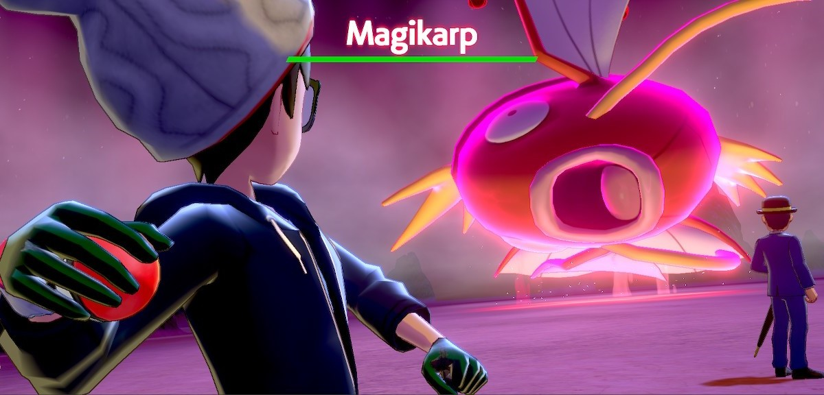 Even Dynamax Magikarp is still silly.