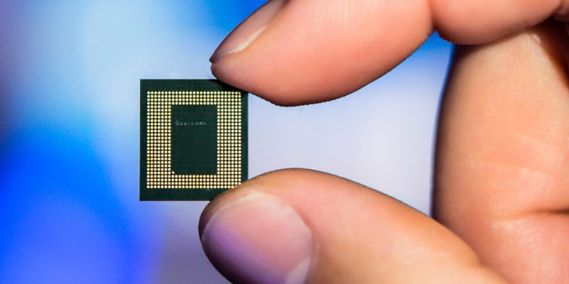 Qualcomm's Snapdragon 865 processor.