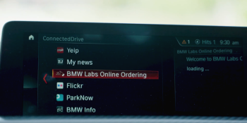BMW and Olo pilot in-car food ordering for U.S. drivers