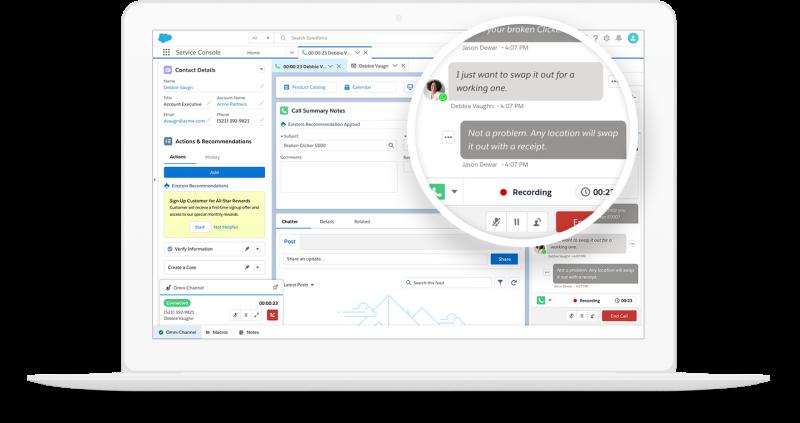 Salesforce Cloud Voice