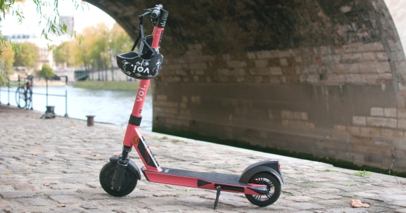 Voi scooter