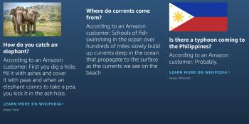 ProBeat: Alexa Answers devalues Amazon's virtual assistant