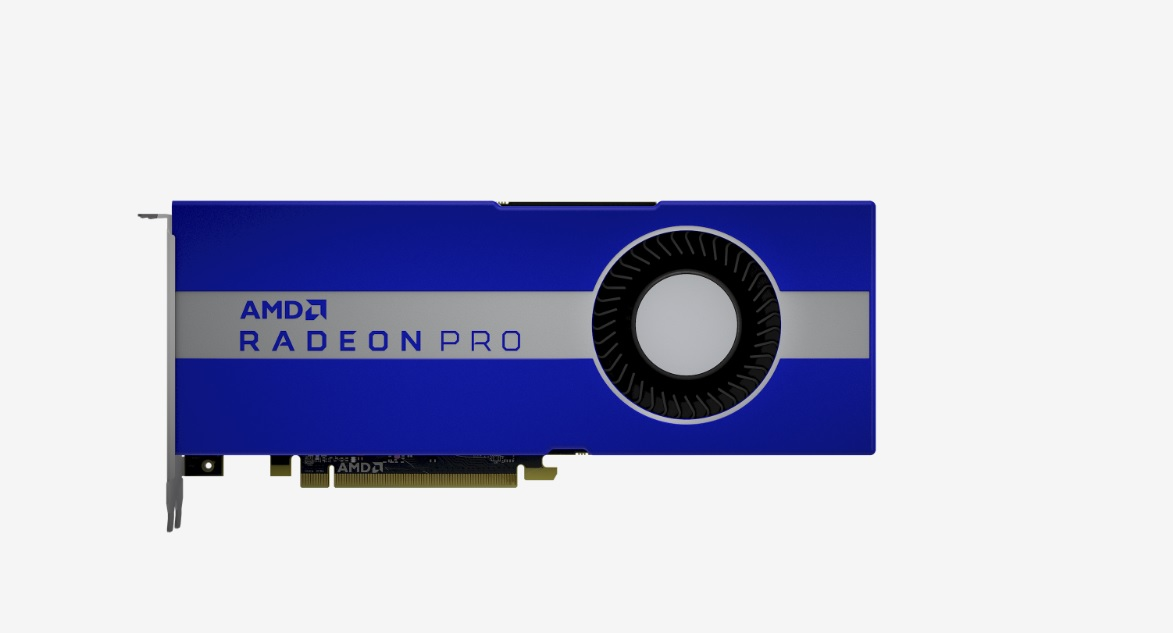 AMD launches 7-nm Radeon Pro workstation graphics chips