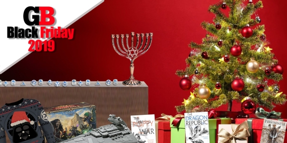 All the geeky presents you can give for any holiday occasion.