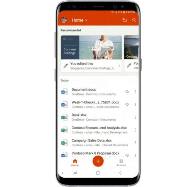 Microsoft Office Mobile Beta