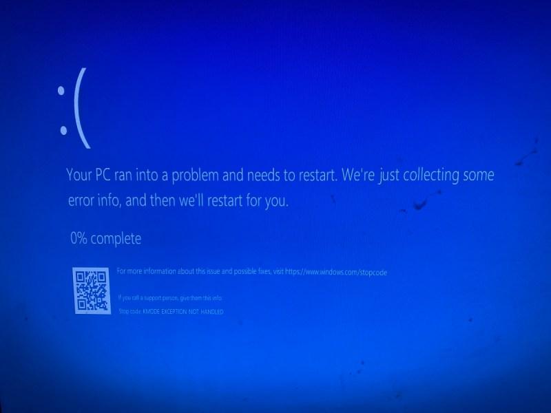 Microsoft is telling me something.