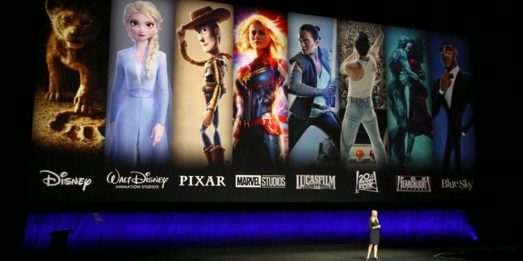 LAS VEGAS, NEVADA - APRIL 03:  President of Walt Disney Distribution Franchise Management, Business & Audience Insights Cathleen Taff speaks during Walt Disney Studios Motion Pictures special presentation during CinemaCon.