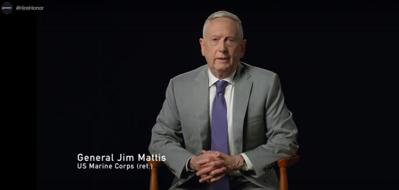 Retired Marine Corps general Jim Mattis.