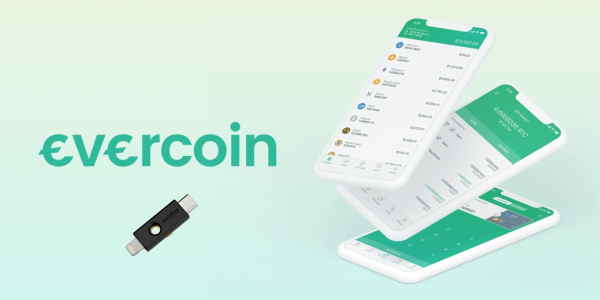 Evercoin 2 comes with YubiKey security.