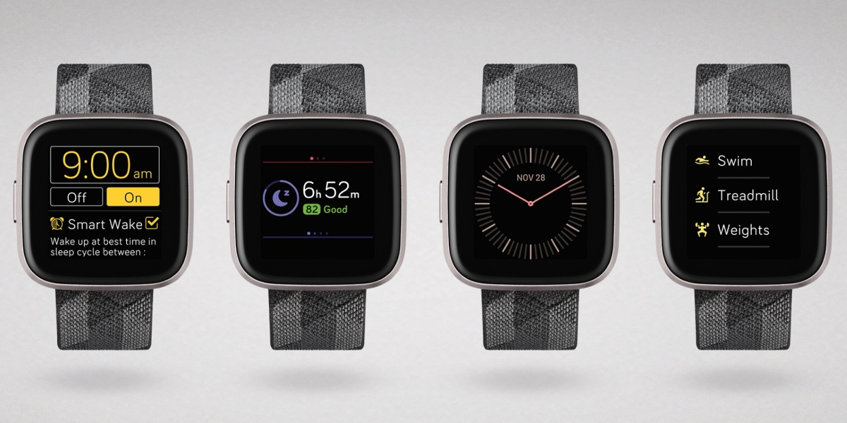 Fitbit OS 4.1 on a Fitbit Versa 2