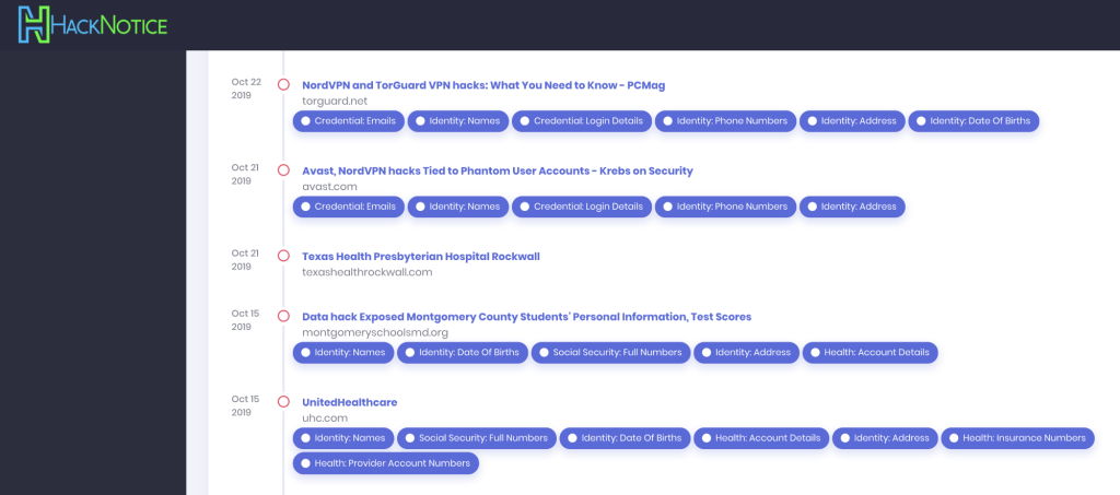 HackNotice Premium taps machine learning to tell you exactly what was exposed for $50 per year