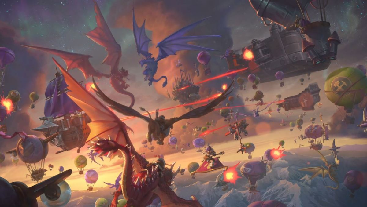 Hearthstone devs are happy to finally bring dragons to the Year of the Dragon