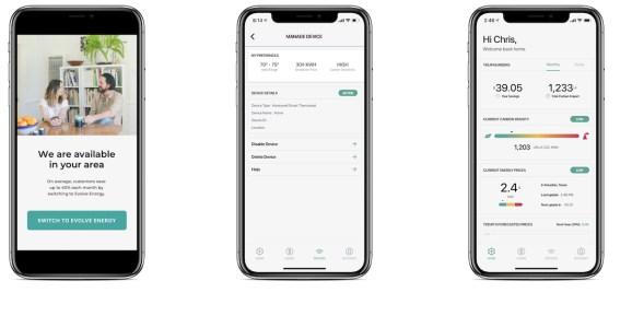 ievolve energy app