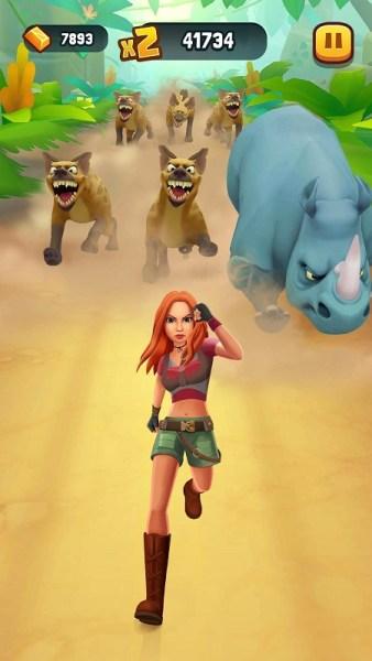 TabTale publiera les jeux mobiles Charlie's Angels et Jumanji basés sur des films jumanji Ruby Stampede 2