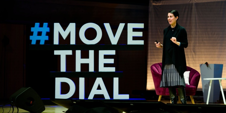 Kathryn Hume at Movethedial Global Summit in Toronto