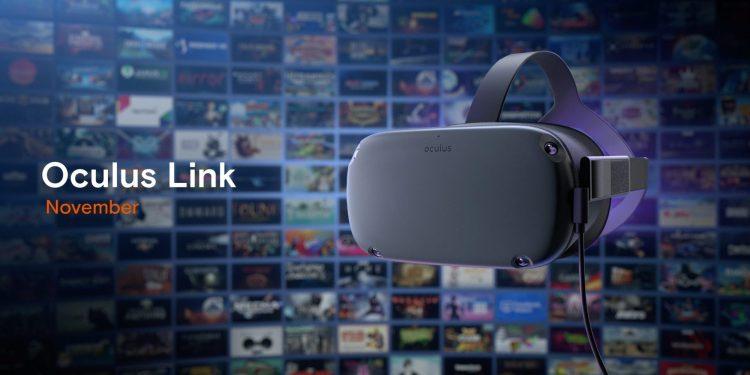 Oculus Link promo image