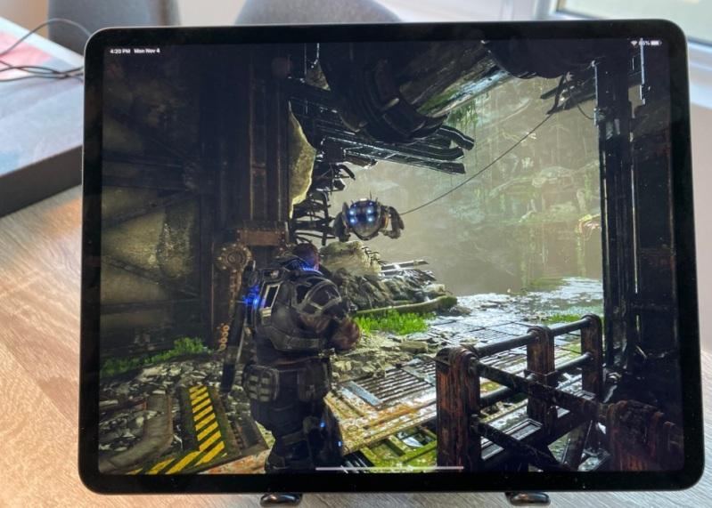 Gears of War 5 on a iPad? How is that possible?