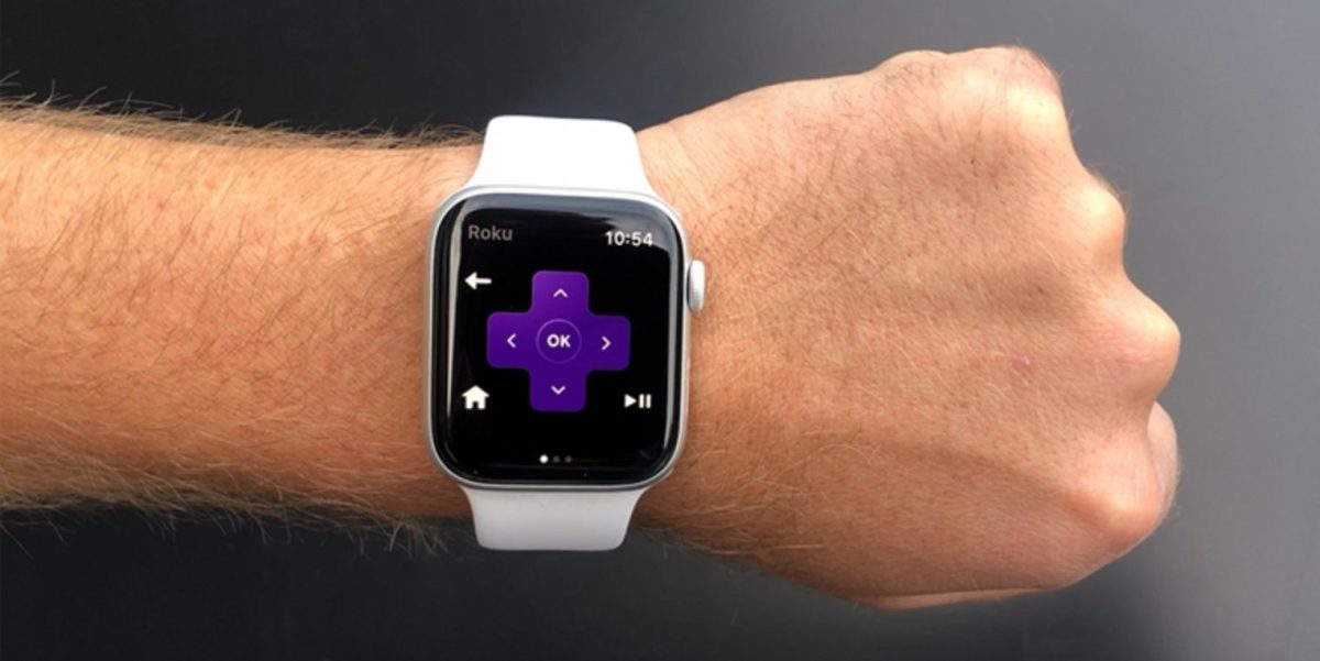 Roku launches Apple Watch app with voice controls and a remote locator