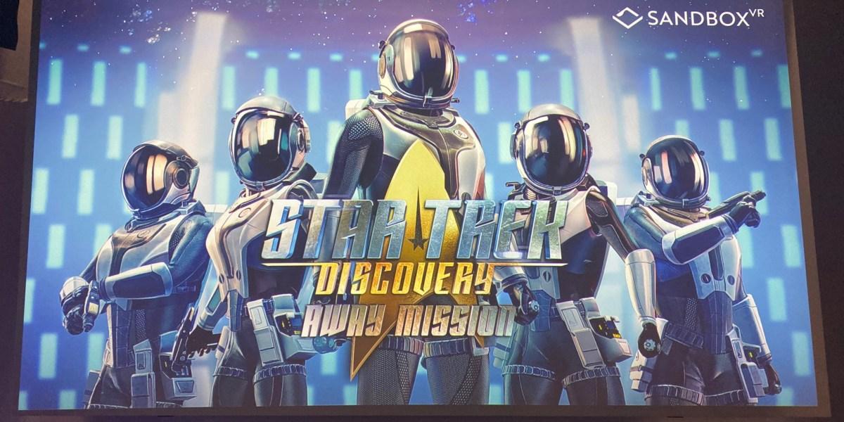 Sandbox VR's Star Trek Discovery: Away Mission.