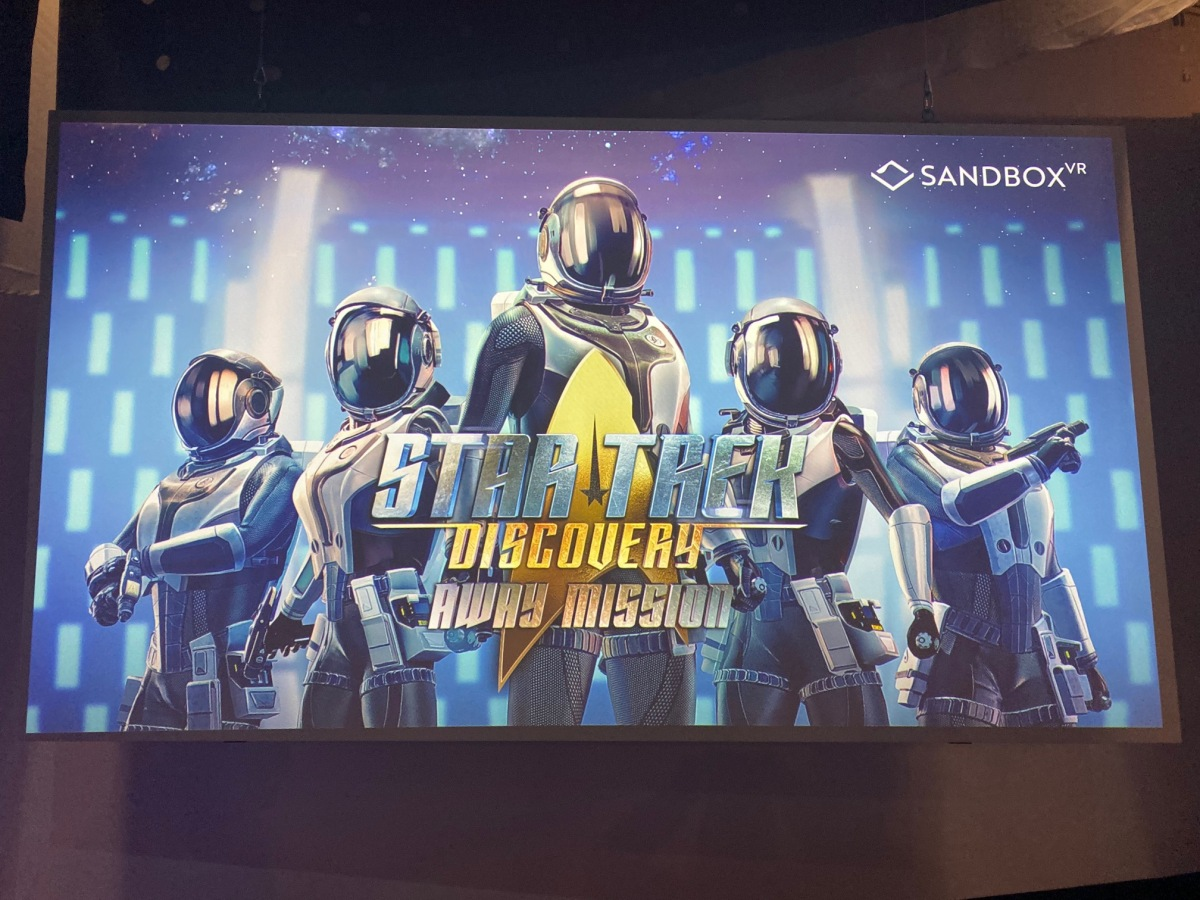 Hands-on with Sandbox VR's Star Trek: Discovery — Away Mission