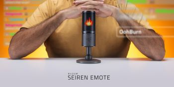 Razer Seiren Emote is a USB microphone with feelings