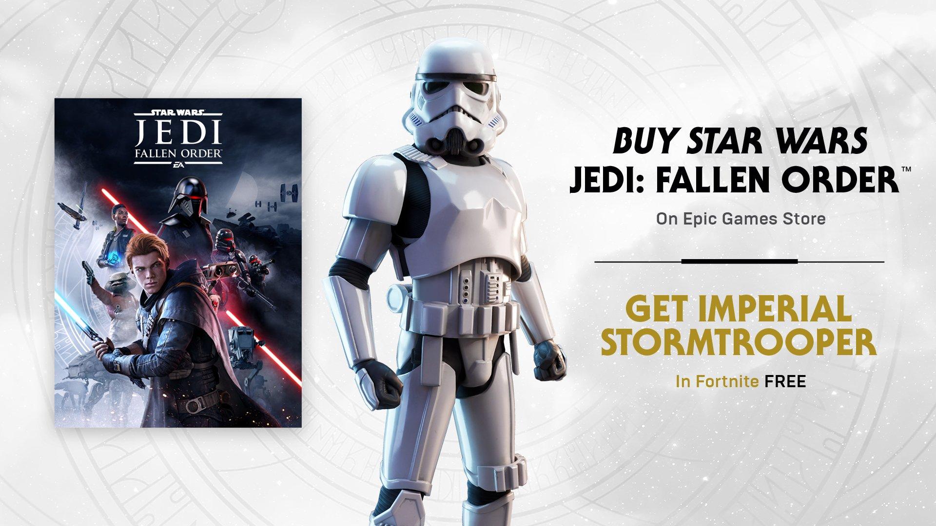 Star Wars Fortnite Event Brings Jedi Fallen Order To