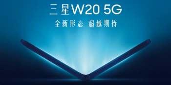 China Telecom teases Samsung W20 5G folding phone for November 2019