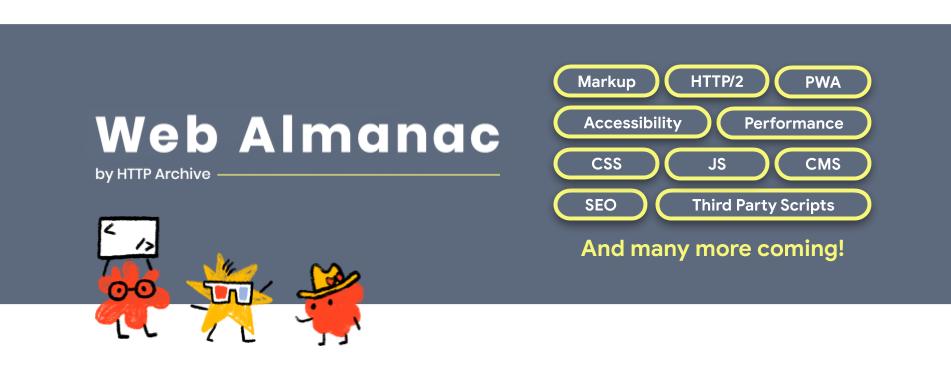 Web Almanac