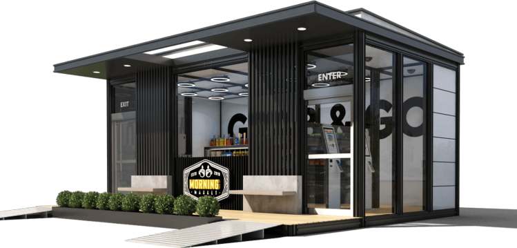 Accel Robotics automated grocery store