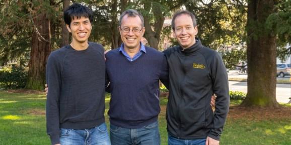 Anyscale cofounders Robert Nishihara, Ion Stoica, and Philipp Moritz