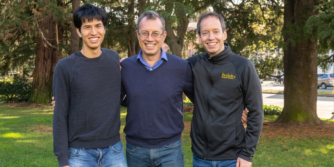 Anyscale cofounders Robert Nishihara, Ion Stoica, and Philipp Moritz