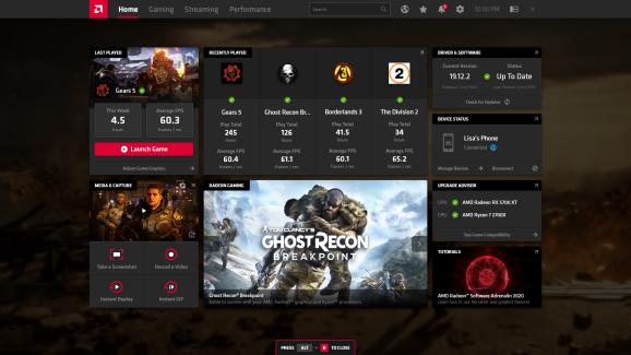 AMD Radeon Adrenalin 2020 software suite is here.