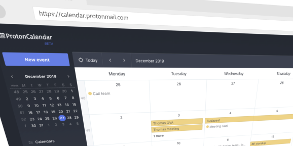 ProtonCalendar by ProtonMail