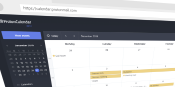 ProtonMail takes aim at Google with an encrypted calendar