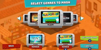 SuperMash is a game that can make more games