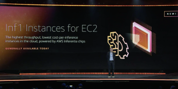 Amazon debuts AWS Inf1, an AI inference instance