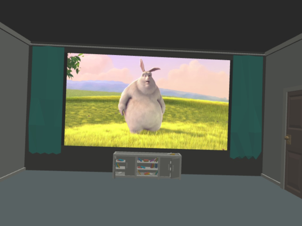 Big Bunny WebXR Device API