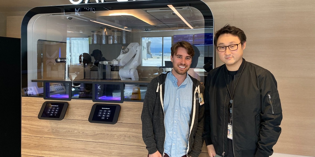 Cafe X: Sam Blum (left) and