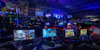 A Dreamhack LAN party.