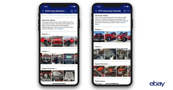 eBay relaunches Motors app with AI and automation at its core
