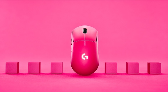 Logitech is promoting Pixel, a new gaming mouse where the proceeds will go to charities.