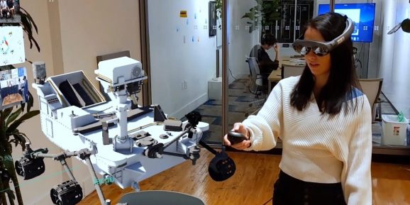 Magic Leap 1 is a tool for 3D visualization.