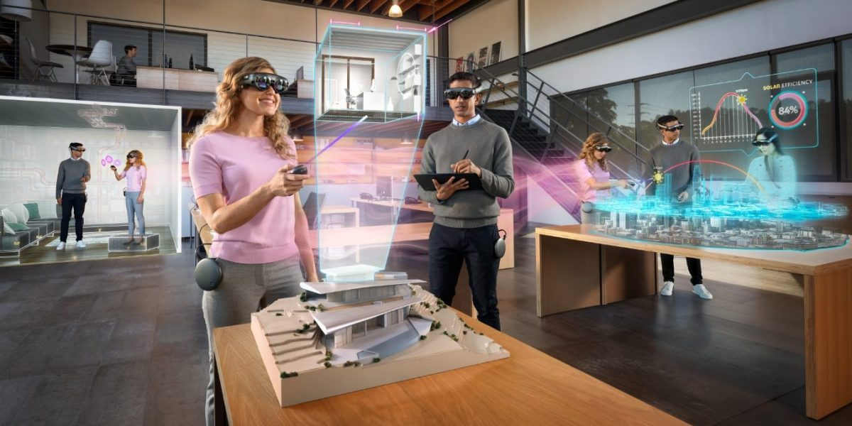 Collaborating with Magic Leap 1.