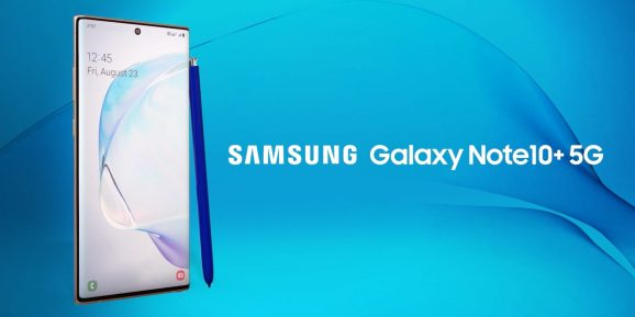 Samsung's Galaxy Note10+ 5G for AT&T.