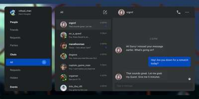 Oculus adds Facebook-powered social features and identity